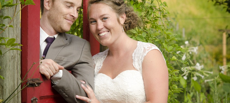 Lauren and Alex were married at McMeniman's Edgefield, Portland, Ore. last summer. It was a beautiful outdoor wedding.