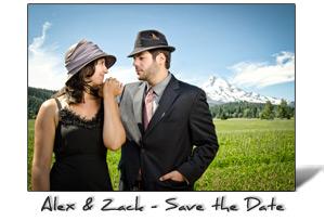 Alex and Zack Engagement Portraits, Portland, Oregon