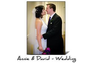 Annie and David's Wedding at Portland City Grill, Portland, OR