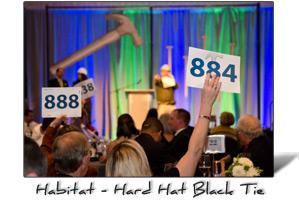 Habitat for Humanity Portland Metro East Hard Hat Black Tie Event Photography, Portland, Oregon