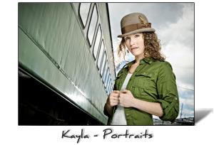 Kayla environmental portraits, Portland, Oregon