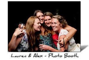 Lauren and Alex's Wedding Photo Booth, Portland, Oregon