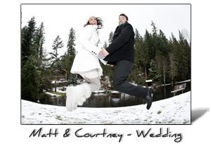Matt and Courtney's Wedding at Mt. Baker, WA