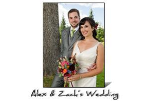 Alex and Zack's Wedding Photography, Portland, Oregon